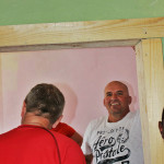 Ken and Wayne reinforce the doorways at Kality Education Support Program in Addis Ababa