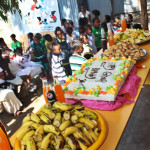 The quarterly birthday party for kids at Kality EducationSupport Program that had birthdays in the past three months