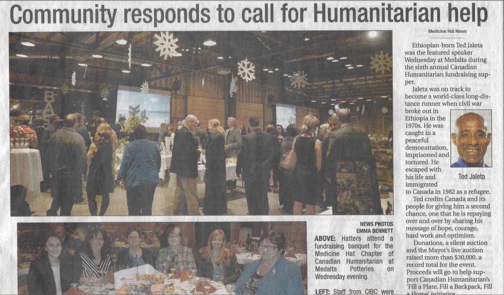 Medicine Hat News scan