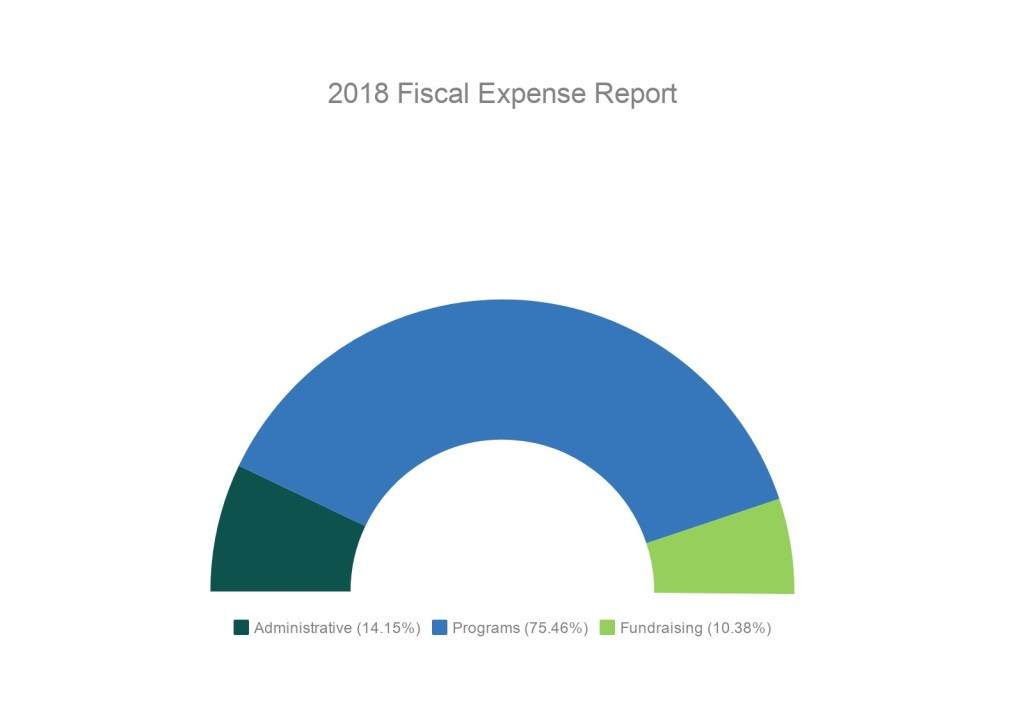 2018 Expense Chart